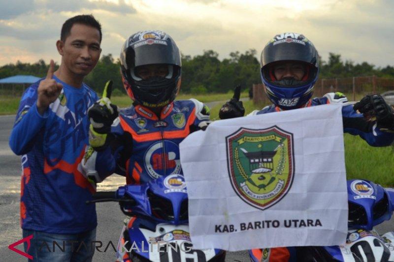 Korwil IMI Barito Utara berikan bonus untuk atlet balap motor