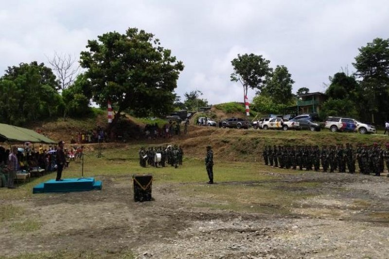 Bupati Keerom Buka Tmmd Di Perbatasan Ri Png Antara News Papua