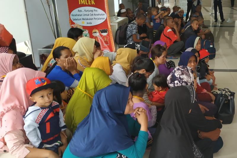 81 TKI Dideportasi Mandiri Lewat Pelabuhan Dumai
