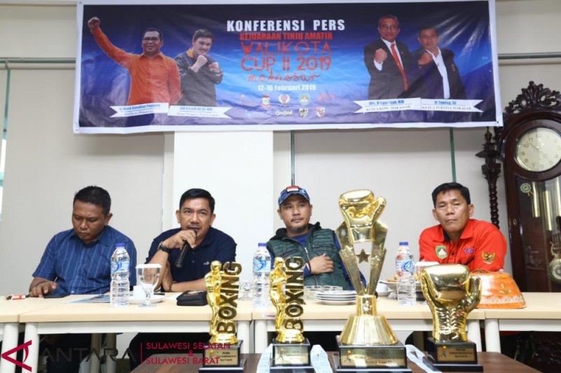 Elyas Pical meriahkan kejuaraan tinju Piala Wali Kota Makassar