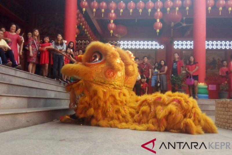 Festival Barongsai sebagai petanda pariwisata  Kepri bangkit