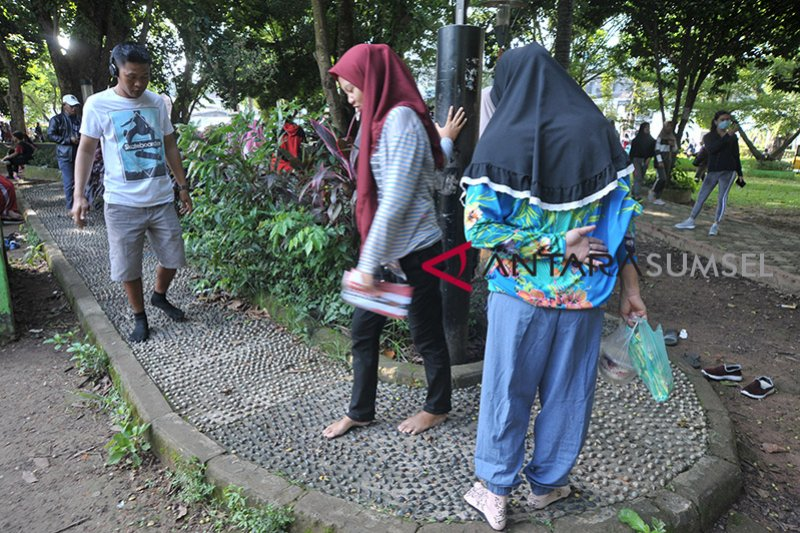 Menikmati Ruang Terbuka Hijau di Palembang
