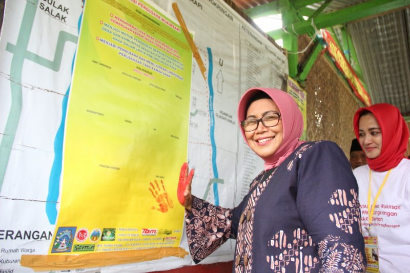 Pengusaha Desa Wukirsari deklarasi Pengusaha Ramah Anak