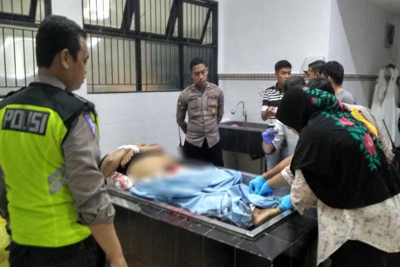 Nahas! Seorang penyiar radio di Palangka Raya tewas terlindas truk fuso