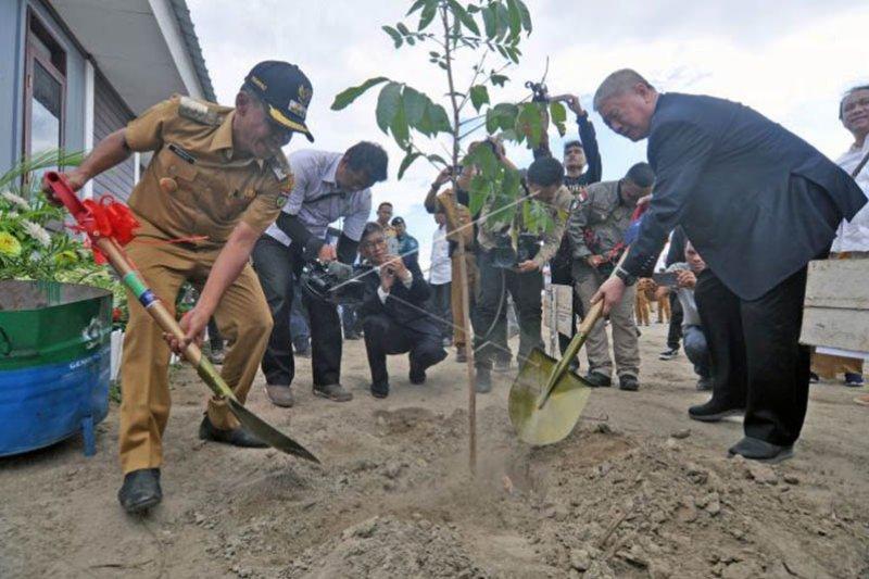 Pembangunan huntap korban bencana Palu