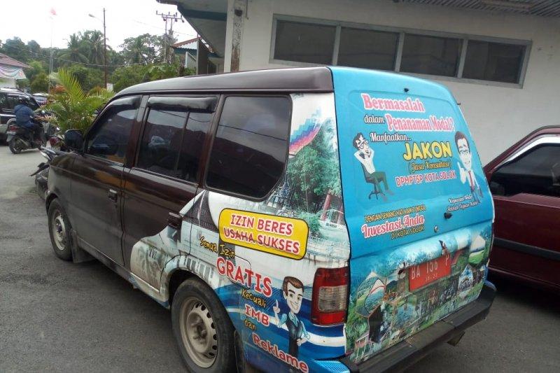 Sudah ada layanan perizinan keliling di Solok