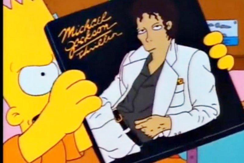 Serial kartun 'The Simpson' dengan suara Michael Jackson juga di cabut