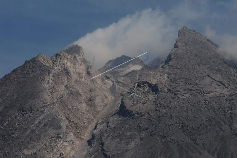 BPPTKG: Gunung Merapi luncurkan awan panas sejauh 1.250 meter