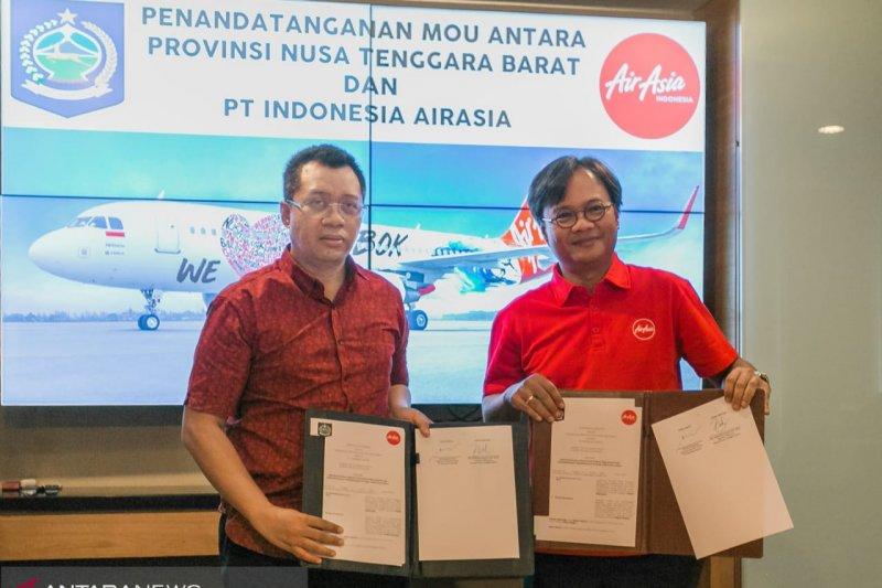 Pemprov Ntb Air Asia Sepakati Penerbangan Perth Lombok Antara News