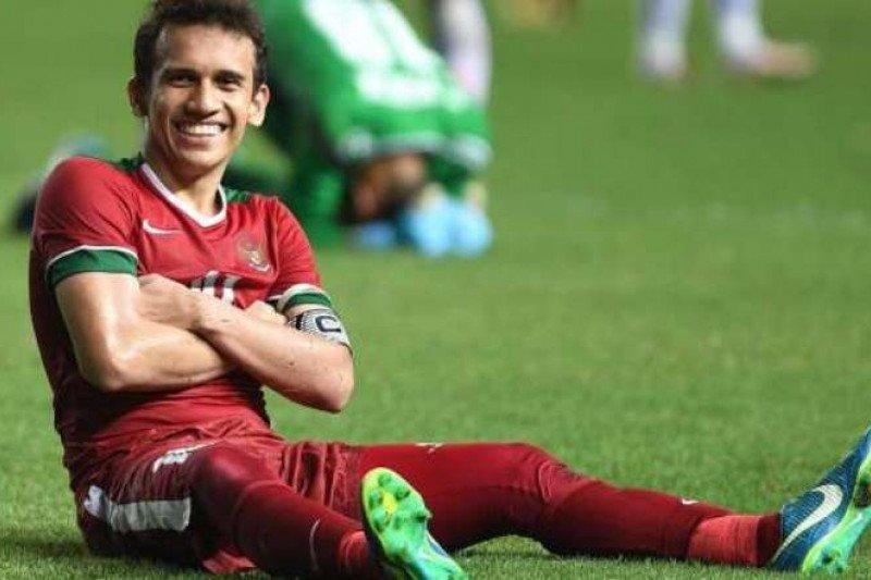 Babak pertama, Indonesia imbang 1-1 dengan Arab Saudi