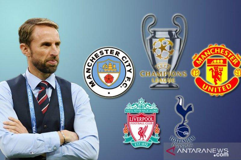 Bagi Southgate, sukses di Liga Champions justru merepotkan Inggris
