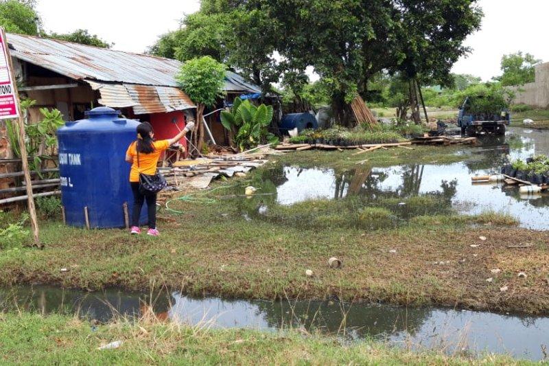 Fogging di lokasi banjir guna mencegah DBD