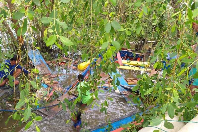 Empat orang hilang kecelakaan speed boat di perairan Banyuasin