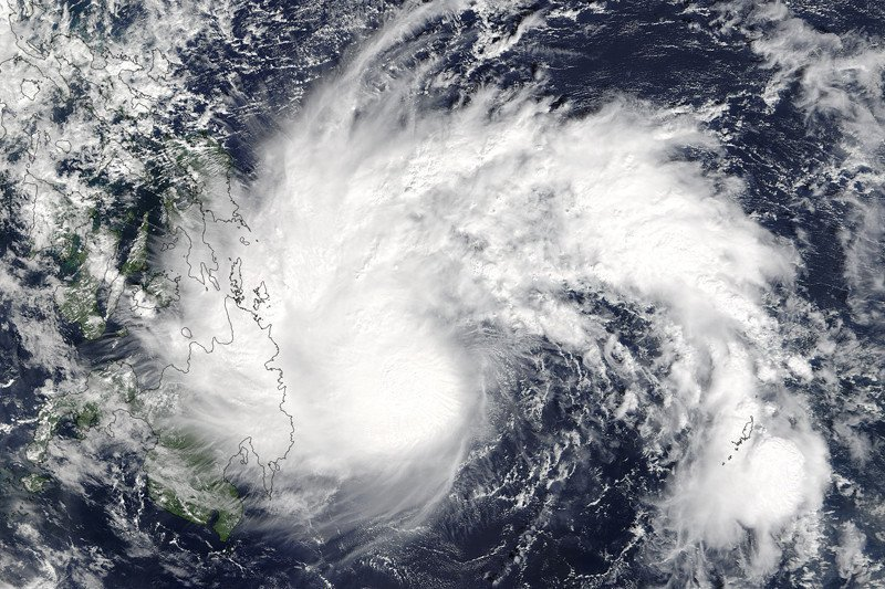 Bibit siklon tropis terpantau di Samudra Hindia barat daya Lampung
