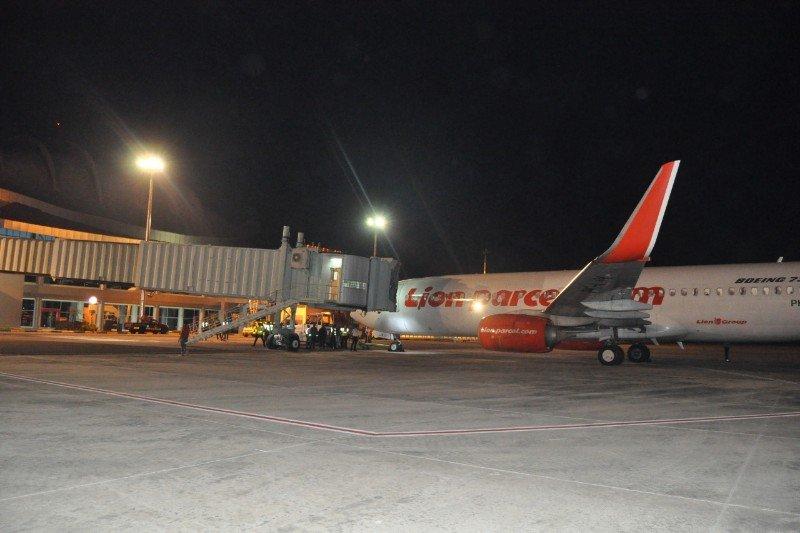 Begini kondisi penerbangan di Bandara Tjilik Riwut saat terjadinya karhutla