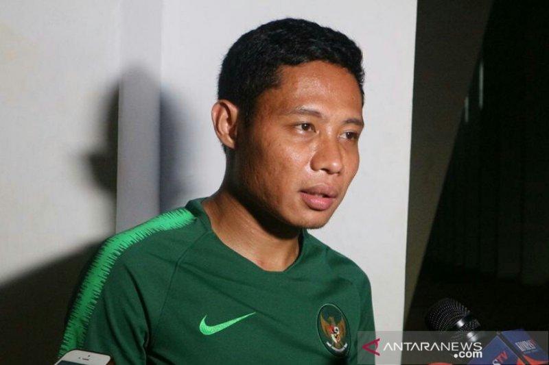 Evan Dimas ingatkan timnas tak remehkan kekuatan Myanmar