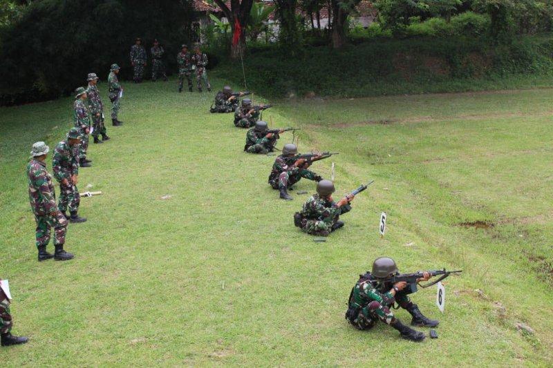 Marinir Lampung Gelar Lomba AntarKompi