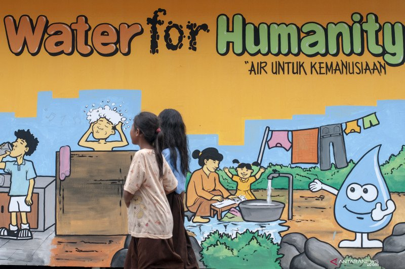 Hari Air Sedunia: Pandemi COVID-19 kian tunjukkan air bersih krusial