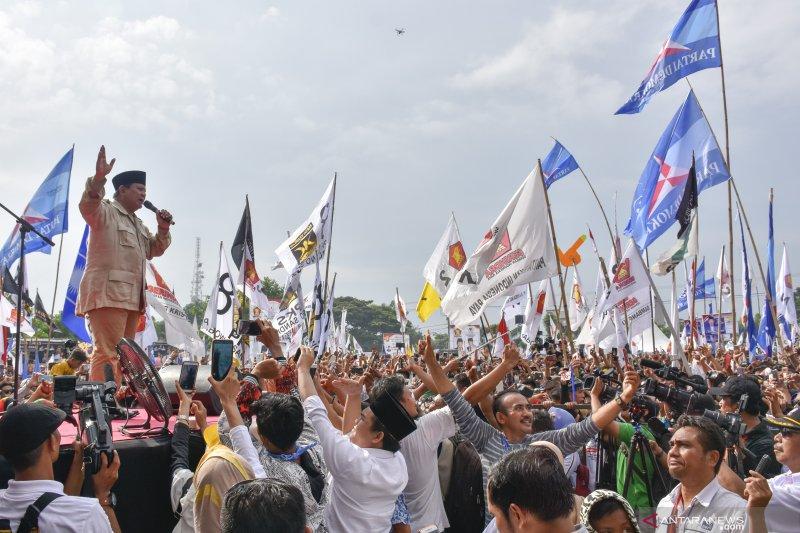 """Prabowo di Kampanye Pilpres, dari """"Mukentip"""" sampai """"uang negara bocor"""""""