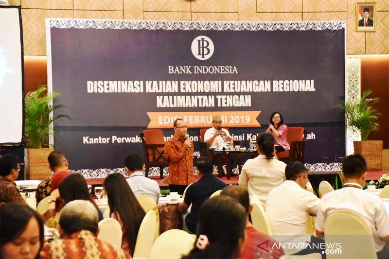 BI perkirakan pertumbuhan ekonomi Kalteng triwulan I tahun 2019 meningkat
