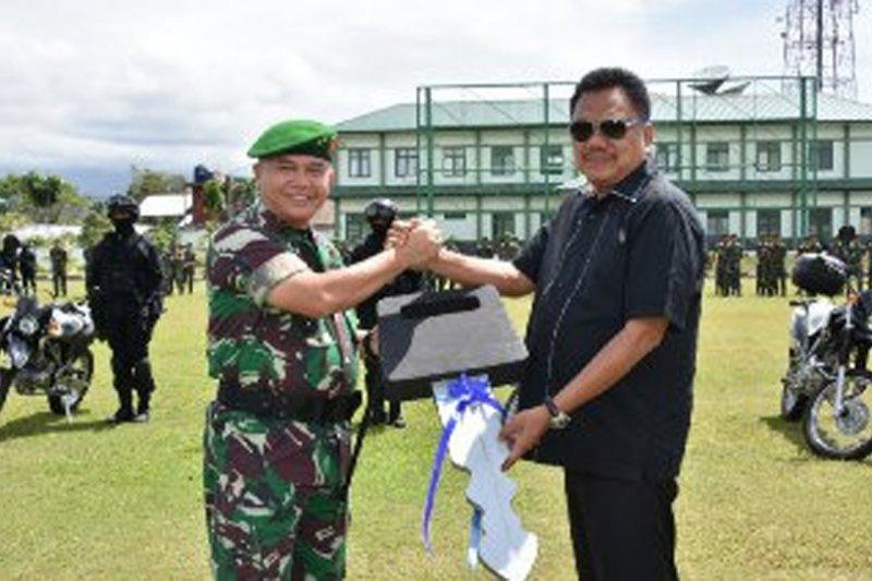 Pangdam XIII/Merdeka terima bantuan sepeda motor dari Gubernur Sulut