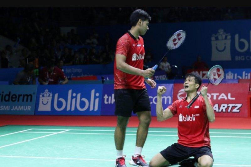 Kalahkan Taiwan, Ricky/Angga ke babak kedua Indonesia Open