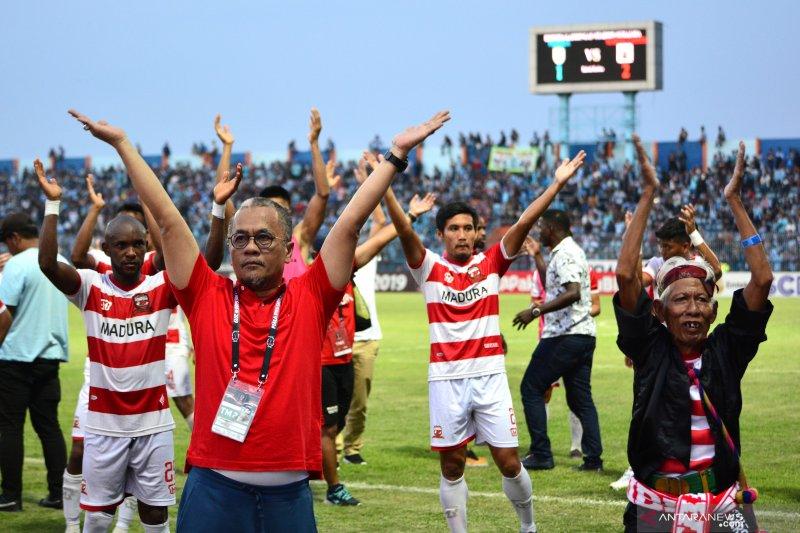 Madura United tidak setuju Liga 1 Indonesia 2020 dilanjutkan