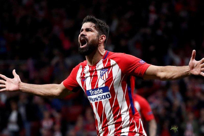 Atletico Madrid segera jual Diego Costa