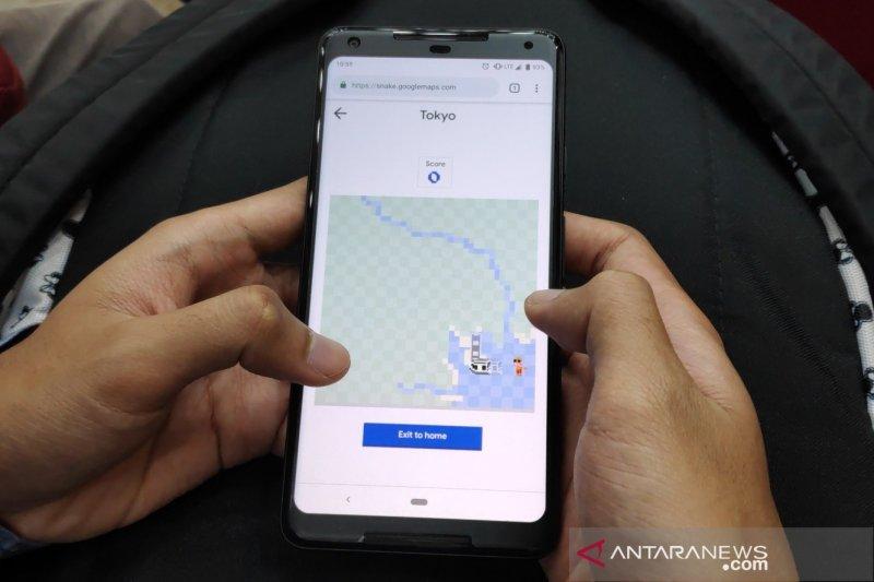 Rayakan April Mop, Google Maps buat game Snake