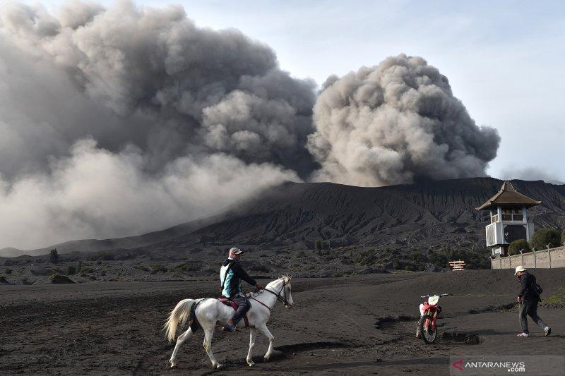 Aktivitas Gunung Bromo cenderung menurun