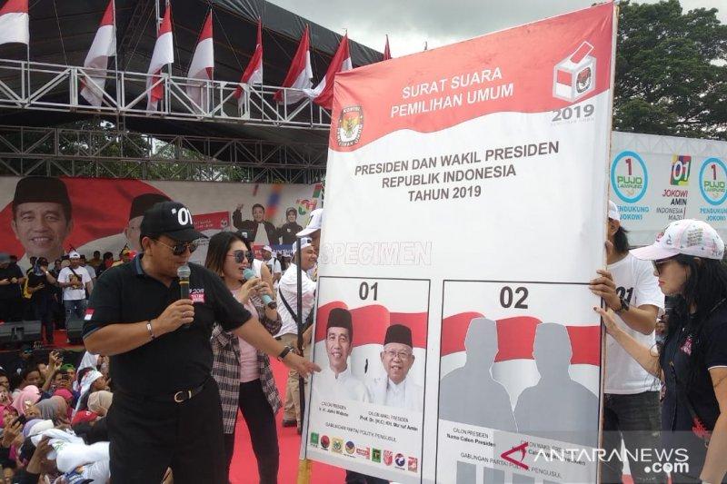 Pujo Lampung Targetkan 80 Persen Suara Capres 01