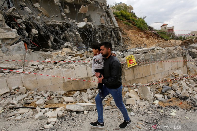 Tanah-tanah orang Palestina disita Israel buat permukiman Yahudi