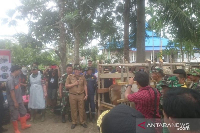 Konawe-TNI Sinergi Program Inseminasi Sapi