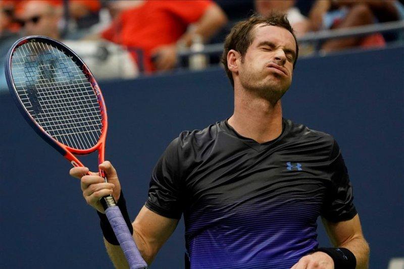 Di Cincinnati, petenis Andy Murray bermain nomor tunggal