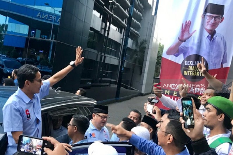 Sandiaga Uno klaim sudah kunjungi 1.550 titik di Indonesia