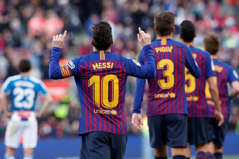 Barcelona berencana tawarkan kontrak baru kepada Lionel messi