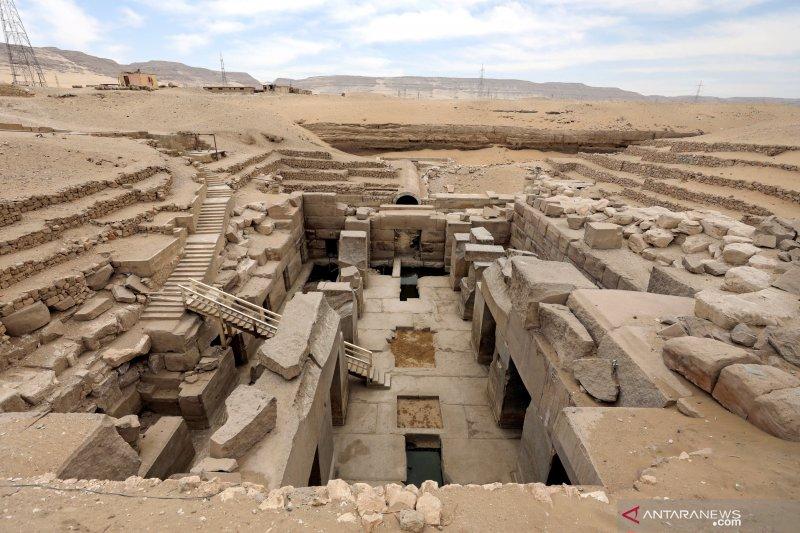 Arkeolog menemukan 'kota firaun Mesir kuno' di dekat Luxor