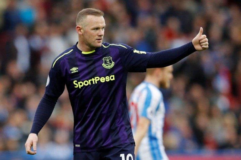 Kartu kuning Wayne Rooney berubah jadi kartu merah setelah wasit lihat VAR di MLS