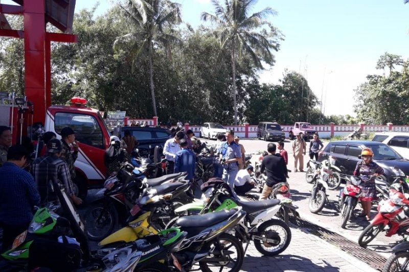 Pemkab Minahasa Tenggara tarik motor dinas tidak bayar pajak