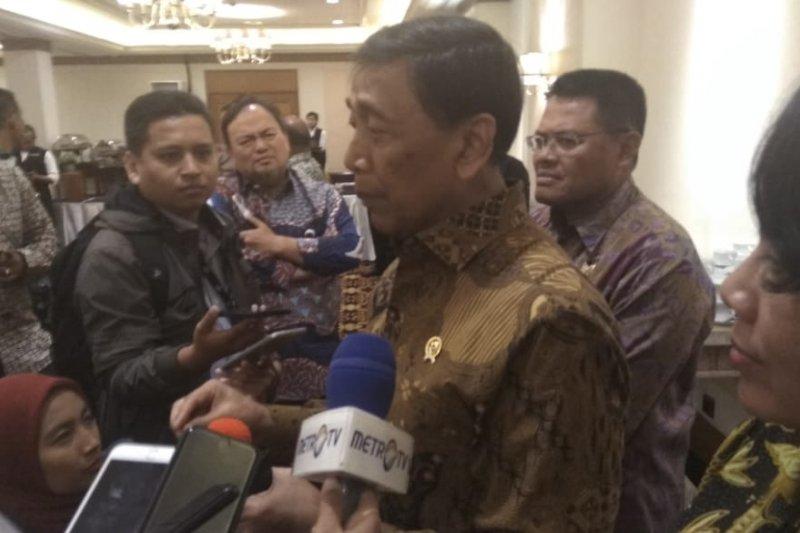 Wiranto: Pimpinan daerah ikut pantau Pemilu 2019