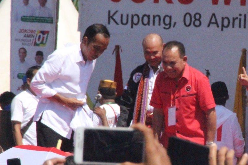 PDIP NTT optimistis target 80 persen untuk Jokowi bisa tercapai