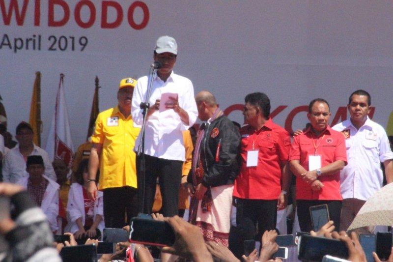 Capres Jokowi bakal mendulang suara lebih dari 80 persen di NTT