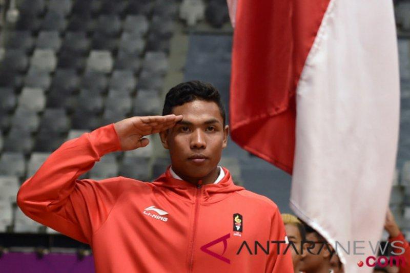 Zohri peringkat ketujuh pada uji coba Olimpiade Tokyo