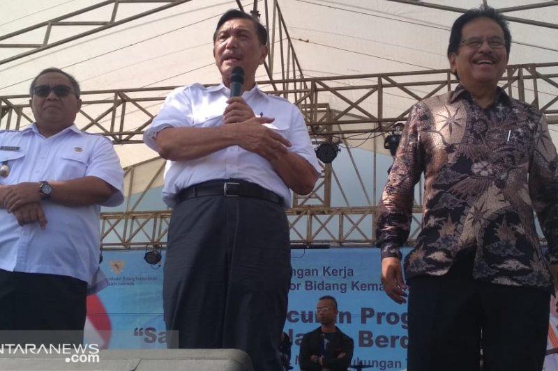 Menko Luhut: Pemerintah Pusat sangat perhatian dengan Sukabumi