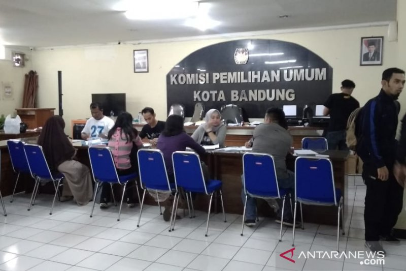 KPU Kota Bandung keluarkan 16 ribu formulir A5