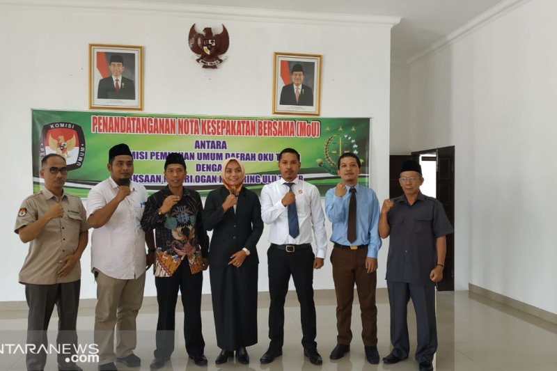 KPU dan Kejari OKU Timur MoU kerja sama bidang perdata