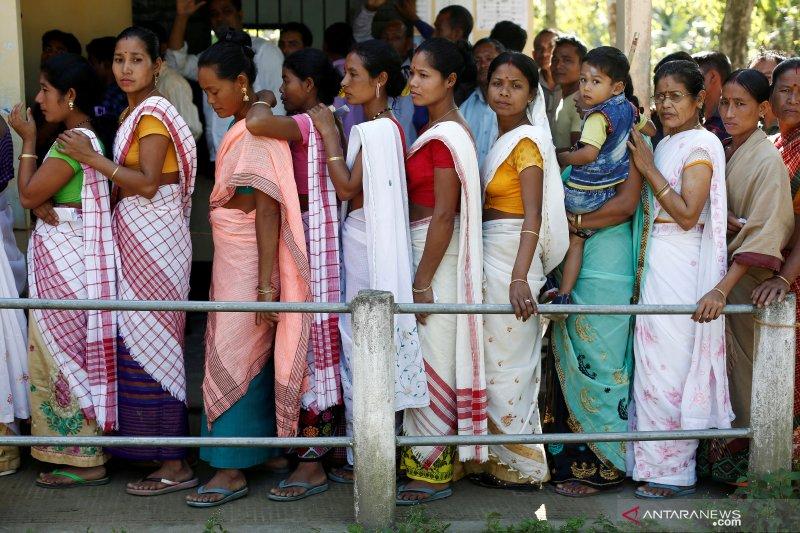 India diguncang gempa bermagnitudo 6,0