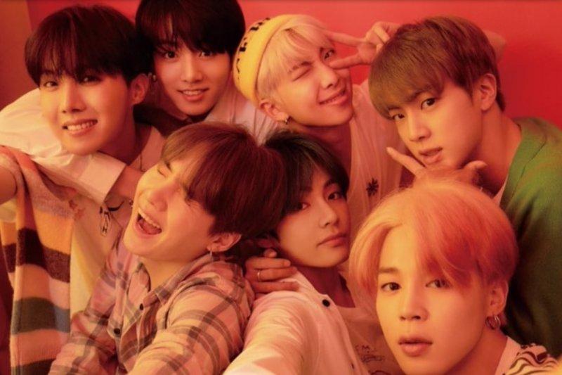Mini album BTS rajai tangga lagu iTunes dunia