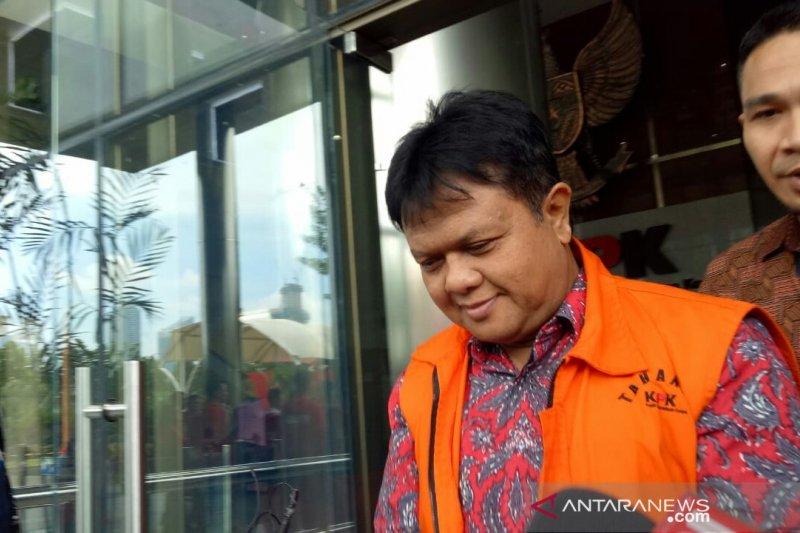 Hakim Lasito serahkan uang dolar di ruang Ketua PN Semarang