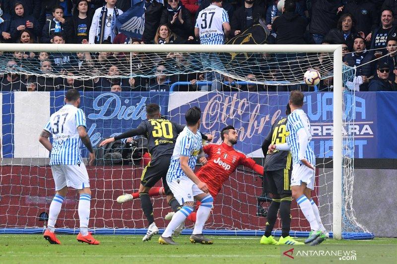 Juventus kalah, gagal pastikan juara Liga Italia